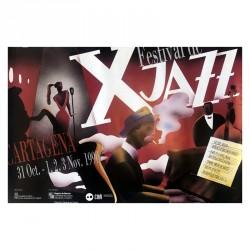 Póster X Festival de Jazz...