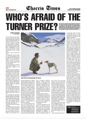 Charris Times. Who's Afraid Of The Turner Prize?