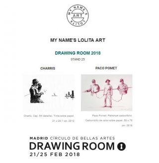 DRAWING ROOM MADRID. Contemporary Drawing Fair.