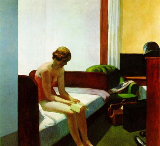 Edward Hopper, Hote Room.