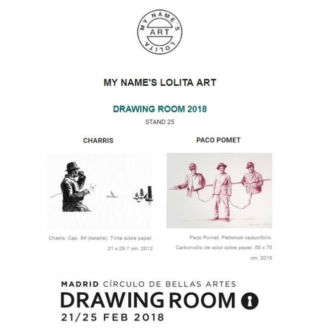 MADRID ROOM. My name's Lolita Art Gallery.